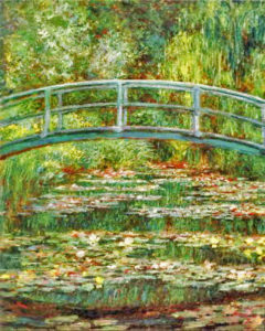 Claude Monet, Le Pont Japonais à Giverny/ JThe Japanese Footbridge in Giverny, 1896